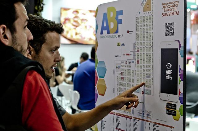Indo na maior feira de franquias da América Latina  a ABF Franchising Expo! 7eedd6d75d