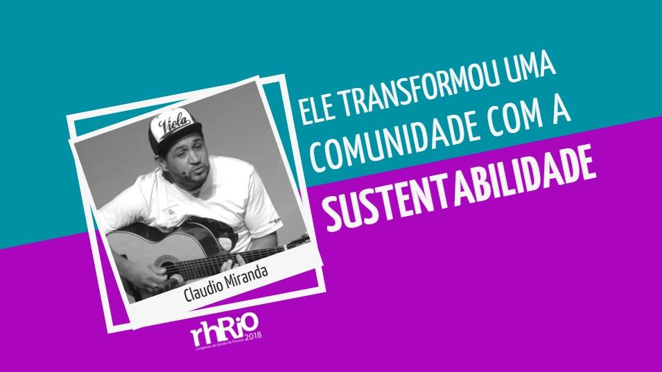 Ele transformou uma comunidade com a sustentabilidade