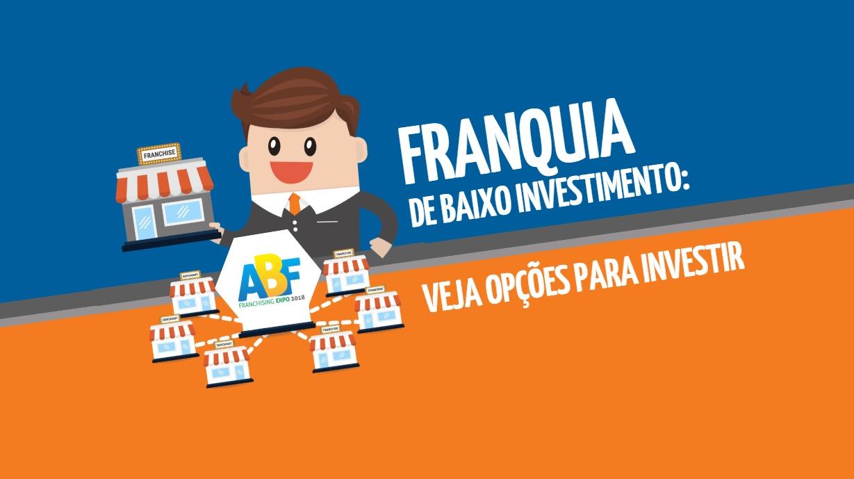 Franquia de baixo investimento: veja opções para investir