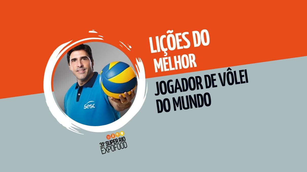 Giovane Gávio: as lições do melhor jogador de vôlei do mundo