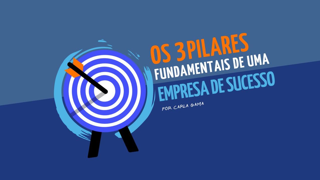 Os 3 pilares fundamentais de uma empresa de sucesso
