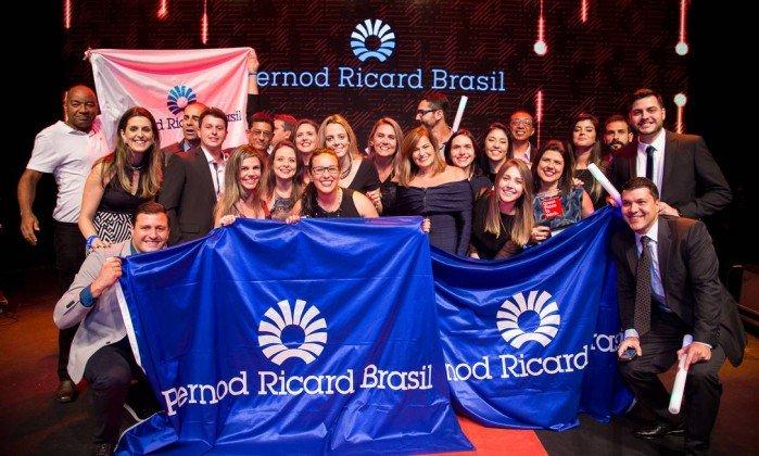 melhores empresas para trabalhar Pernod Ricard