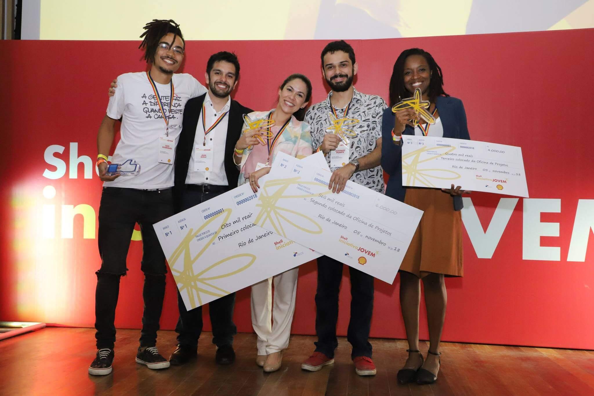 Shell Iniciativa Jovem vencedores