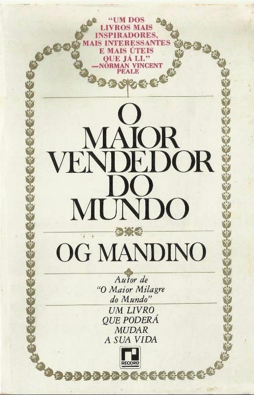 livro o maior vendedor do mundo de og mandino