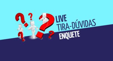 Live tira-dúvidas - Enquete