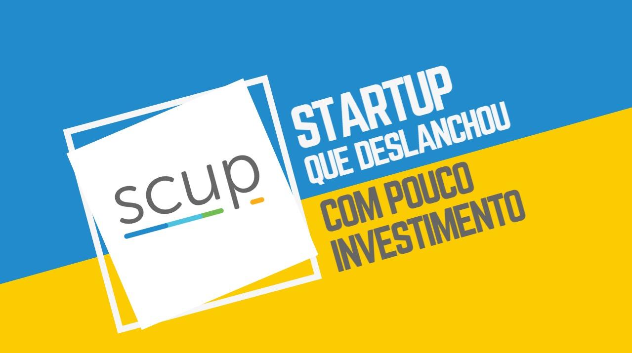 Scup: startup que deslanchou com pouco investimento