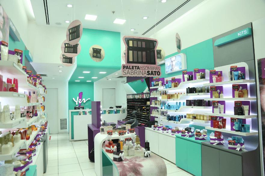 Franquia Yes! Cosmetics